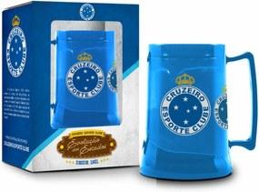 Caneca gel 450ml escudos - cruzeiro