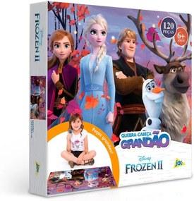 Quebra-Cabeça Frozen 2 Grandão 120 Peças - Toyster