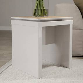 Mesa Lateral Lincoln – Off White/Natural – 0,44