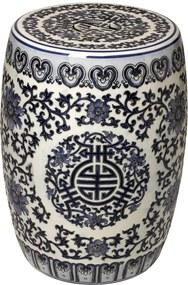 Garden Seat de Porcelana Orient