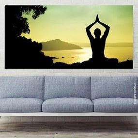 Painel Fotográfico Yoga Na India