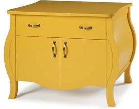 Comoda Doors Acabamento Cor Amarelo - 21812 Sun House