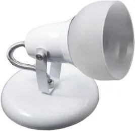 Spot Alumínio/Vidro 1xE27 Branco 231/1-BR JM Iluminação