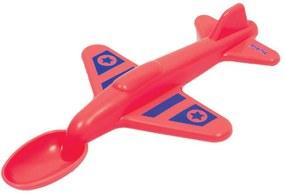 Colher Avião Buba Vermelho - 7288
