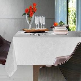 Toalha de Mesa Retangular 8 Lugares - Sienna Branca - Karsten