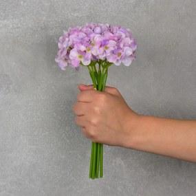 Flor Artificial Hortência Rosa
