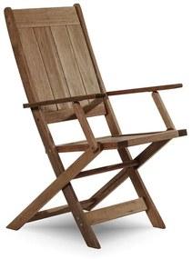 Cadeira Dobrável Acqualung C/ Braço - Wood Prime MR 248113