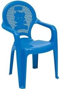 Cadeira de Plástico Tramontina Catty Infantil Azul
