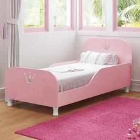 Cama Infantil Rainha 2321 Rosa - Multimóveis