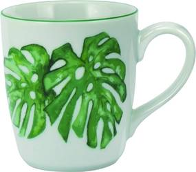 Caneca Porcelana Schmidt 225 ml - Dec. Tropical