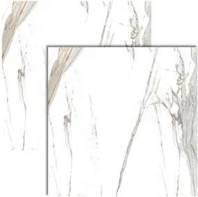 Porcelanato Calacata Oro Satin Acetinado Retificado 120x120cm - Biancogres - Biancogres