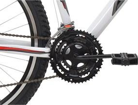 Bicicleta Aro 26 Titan 18V Aluminio Branco Athor Bikes