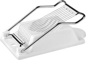 Fatiador De Ovos Tramontina Utilitá Em Aço Inox E Polipropileno Branco 25029180