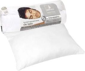 Travesseiro Santista Extra Firme Rolinho 50x70cm Branco