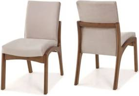 Cadeira de Jantar Classic - Madeira Maciça - Euclar