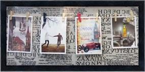 Porta Retrato Kasa Ideia Quadrado 30x60cm