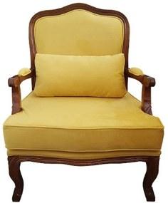 Poltrona King Impermeável - Wood Prime 12457 Liso