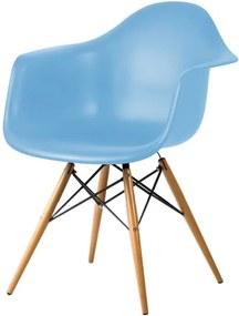 Cadeira DKR com Braço Azul