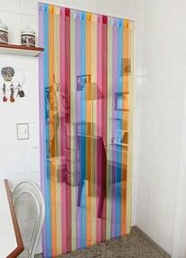 Cortina para Sala Multicolor 140x280 cm