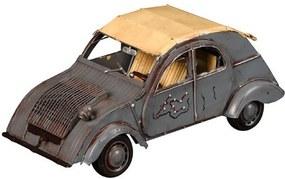 Miniatura Citroen 1967 DS Pallas Decorativo de Metal Cinza