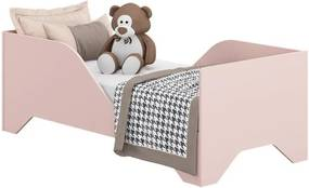 Mini Cama Soninho Rosa - Wood Prime MV 14970