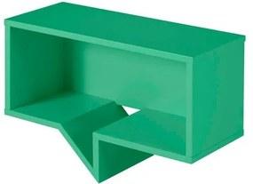Prateleira Cartoon Retangular Laca Verde Anis - 27257 Sun House