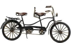 Enfeite Decorativo Minas de Presentes Bicicleta Preto