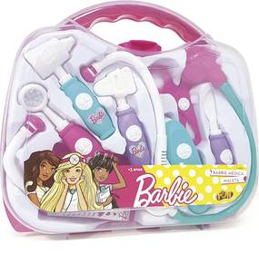 Barbie Kit Medica Maleta Rosa Fun Divirta-Se