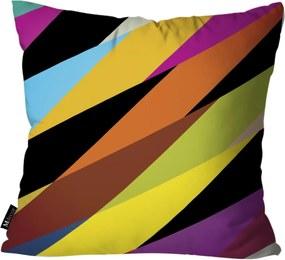 Almofada Mdecore Listrada 45x45cm Multicolorido
