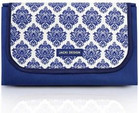 Tapete para Piquenique Impermeável Jacki Design Grande Dobrável Azul