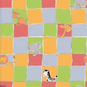 Papel De Parede Safari Friends Belga Sf6219