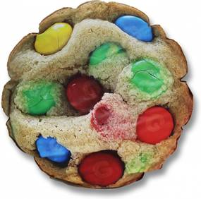 Pufe  Goodpufes  Pufe Ball Cookie Colorido