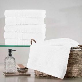 Toalha de Rosto Branca Teka - Coleção Escala