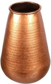 Vaso Indiano em Metal Cobre 30cm