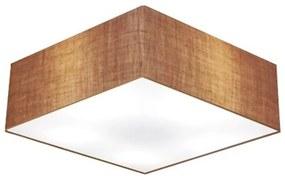Plafon Para Corredor Quadrado SC-3051 Cúpula Cor Palha