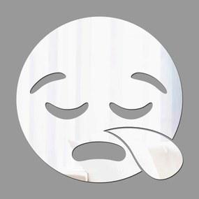 Espelho Decorativo Emoji Gripado