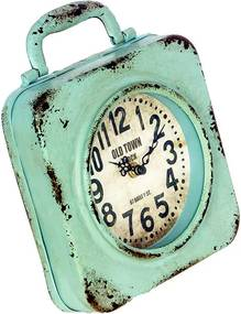 Relógio Azul em Ferro
