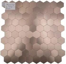 Pastilha Adesiva Aluminio Gloss Dourado 4mm