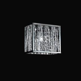 Arandela Adágio em Metal e Cristal - Bella Iluminação - HO023