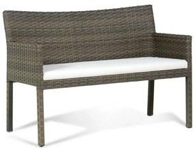 Sofá Regata Área Externa Fibra Sintética Estrutura Alumínio Eco Friendly Design Scaburi