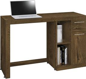 Mesa Computador Office Doris Nogal Acetinado  E.D.N