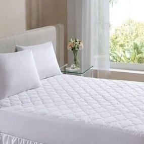 Protetor De Colchao Casal Hedrons -Impermeavel Matelassado Branco