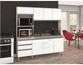 Cozinha Compacta B112 Branco Fendi Briz