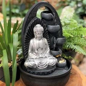 Fonte de Buda Silver c/ Cascatas