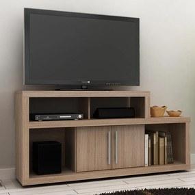 Rack para TV R1450 Amendoa 2 Portas - Tecno Mobili