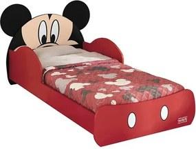 Mini Cama Infantil Mickey Vermelha - Pura Magia