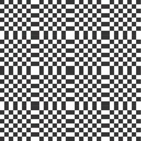 Adesivo Azulejo Branco E Preto 851