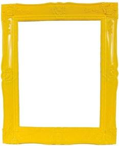 Porta-Retrato New Cirque Amarelo em Polipropileno - Urban - 25x20 cm