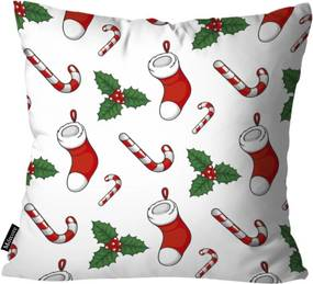Almofada Mdecor D Natal Mia Branco