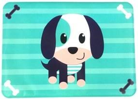 Jogo Americano Infantil Impermeável Azul - Cachorro - Unik Toys